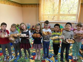 Выставка-ярмарка в честь Дня хлеба.