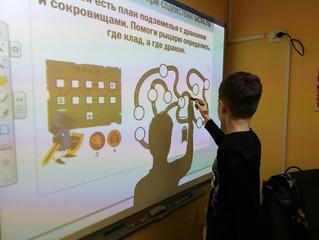 Интерактивный урок математики от Учи.ру