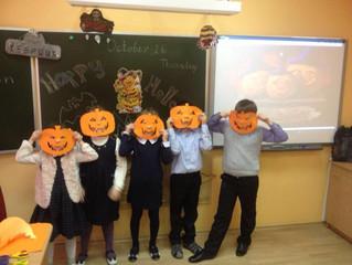 Хэллоуин на английском