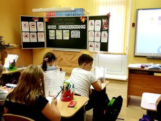 3 сентября ученики 4 класса ОАНО СОШ «Пенаты» приняли участие во всероссийской акции «Урок безопасно