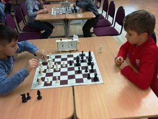 Шахматный турнир в начальной школе