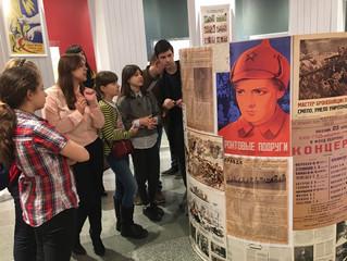 6 класс в Центральном музее Великой Отечественной войны