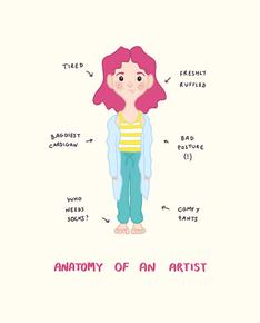 Anatomy of an artist