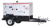 Planta eléctrica MAGNUMde 150KVA, Reconectables en diferentes voltajes, Motor diesel.