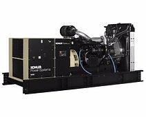 Planta eléctrica KOHLERde 750KVA, Reconectables en diferentes voltajes, Motor diesel.
