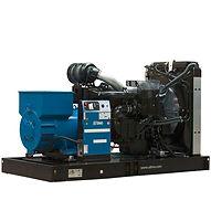 Planta eléctricaSDMOde 130KVA, Reconectables en diferentes voltajes, Motor diesel.