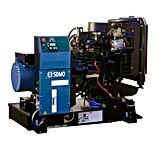 Planta eléctrica SDMOde 25KVA, Reconectables en diferentes voltajes, Motor diesel.