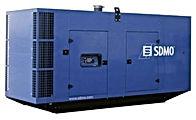 Planta eléctrica SDMOde 200KVA, Reconectables en diferentes voltajes, Motor diesel.