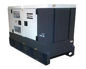 Planta eléctrica ATLAS COPCOde 80KVA, Reconectables en diferentes voltajes, Motor diesel.