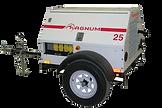 Planta eléctrica MAGNUMde 25KVA, Reconectables en diferentes voltajes, Motor diesel.