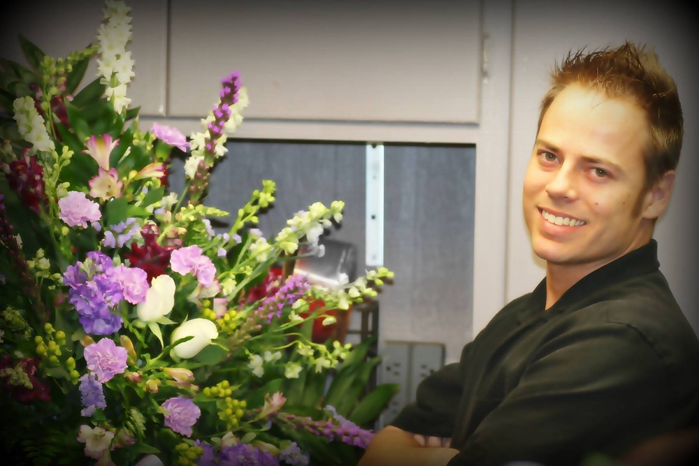 Matt Hutchinson- Founder and Creative Artist of Botanical Floral Design Kansas City
