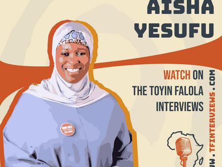 A Conversation with Aisha Yesufu