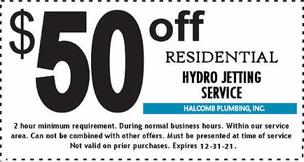 2020 50 OFF Residential Jetting exp  12-