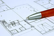 Plumbing design blueprint