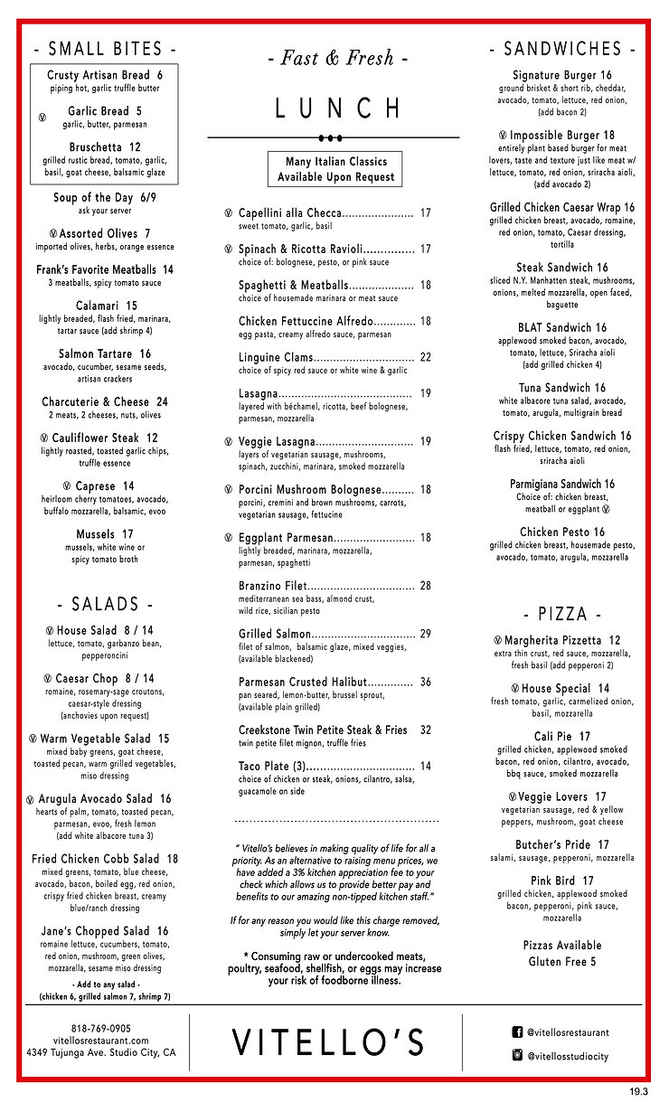 19.3- 8.5X14 LUNCH MENU - VERTICAL - FRO
