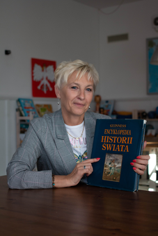 Teresa Brunath, nauczycielka  historii
