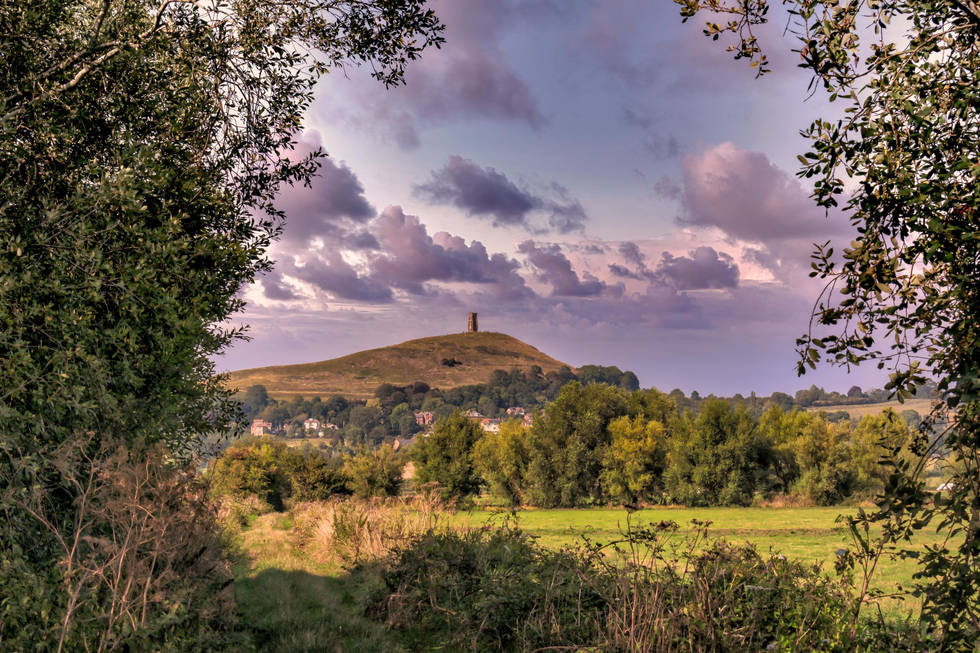 Glastonbury Tor Hill Heaven