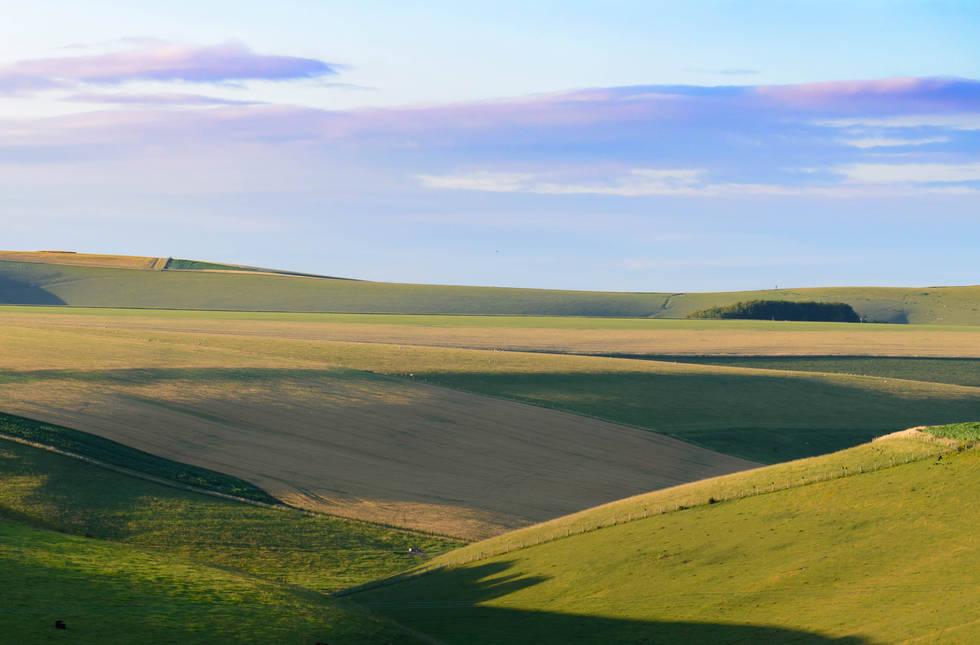 Landscape over Wiltshire