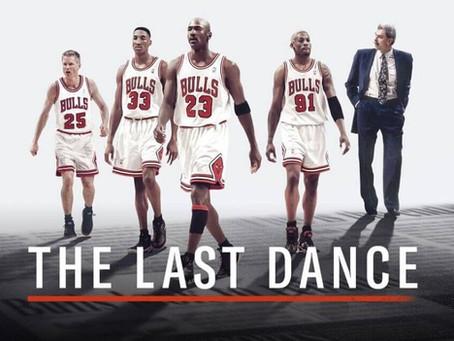 The Last Dance, Michael Jordan, and me