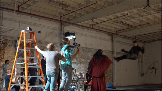 Derek Ting Rigging stunt