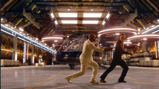 Derek Ting and Michael Dorn in Agent Revelation