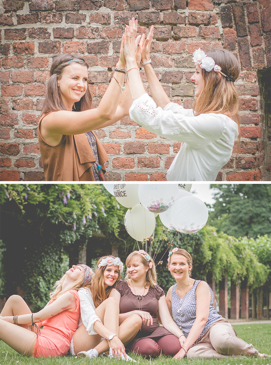 Freundinnen-Fotos