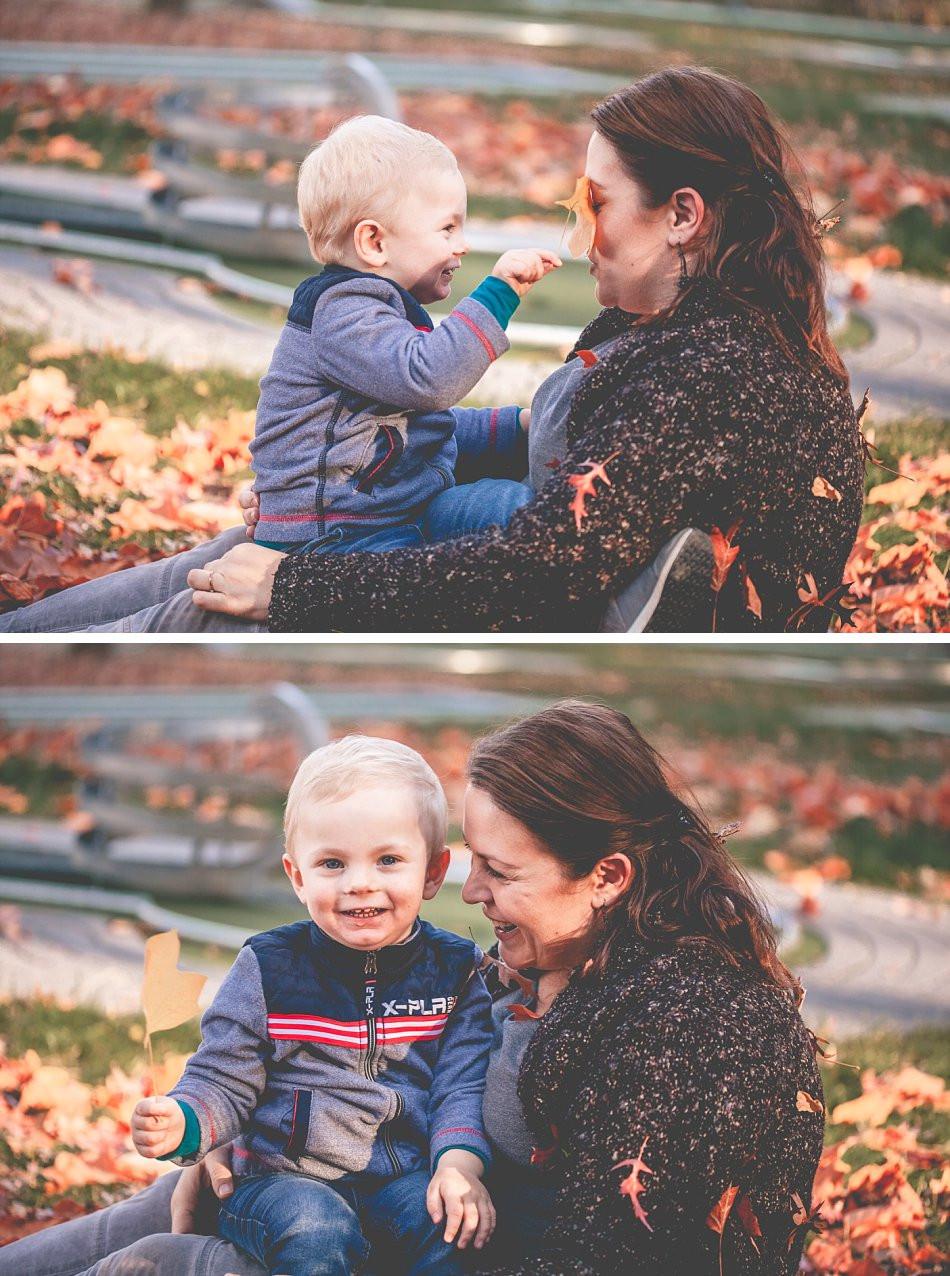 natürliche Mama-Kind-Fotos im Herbst / Köln & Umgebung