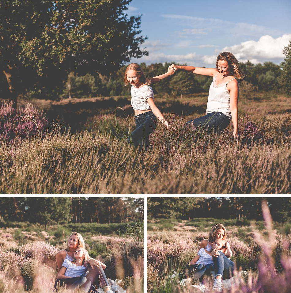 Mama & Tochter im selben Outfit. Portraits in der Wahner Heide. Portraitfotografie und Kinderfotografie, Claudia Kneist Photographie, Köln, NRW