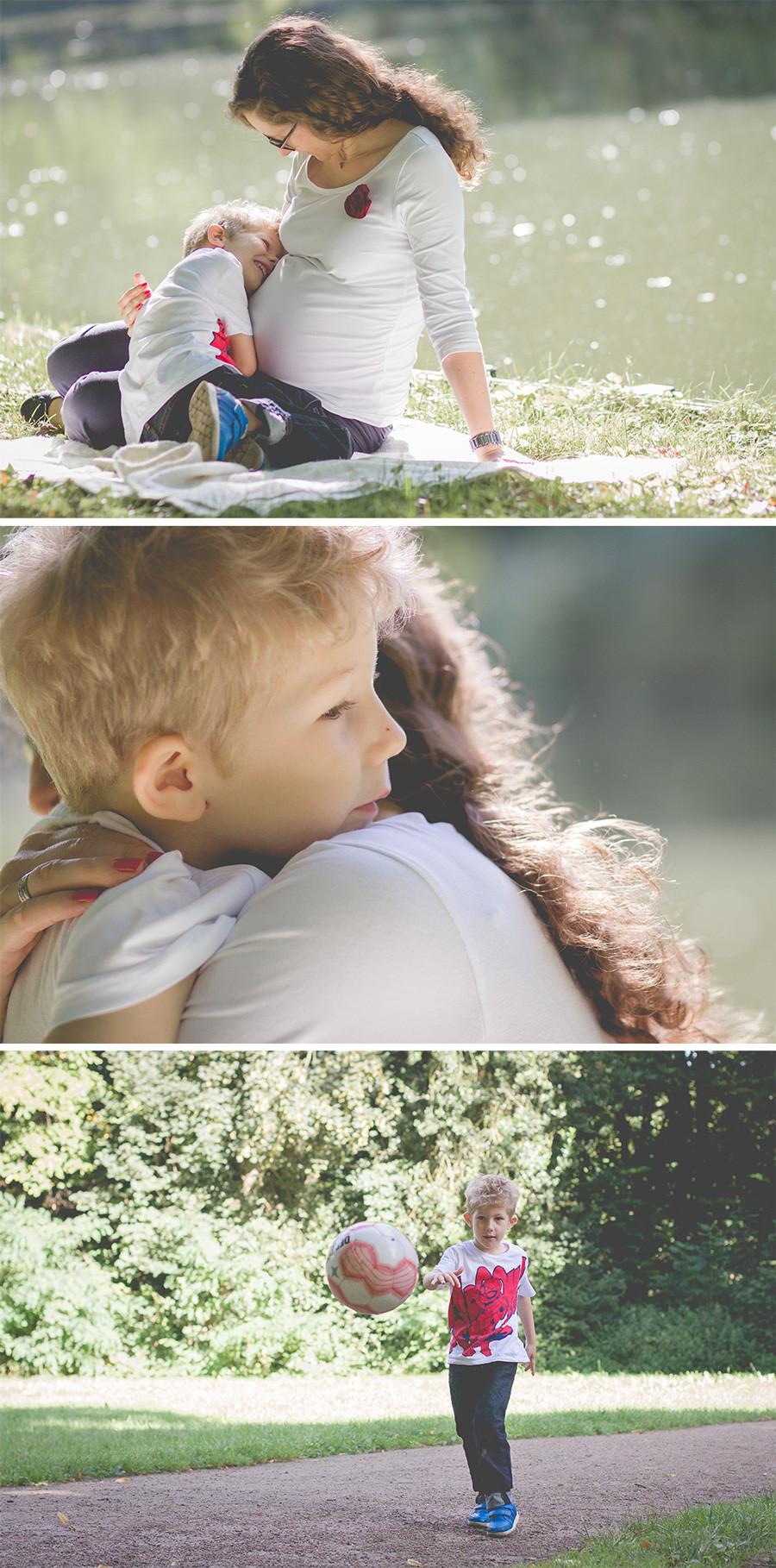 Kuschelfotos mit Mama / Familienfotografie Köln