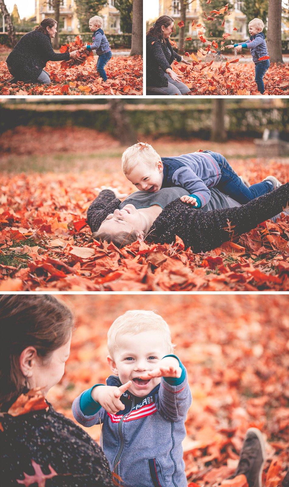Kinderfotos mit Elternteil im Herbst / Köln & Umgebung