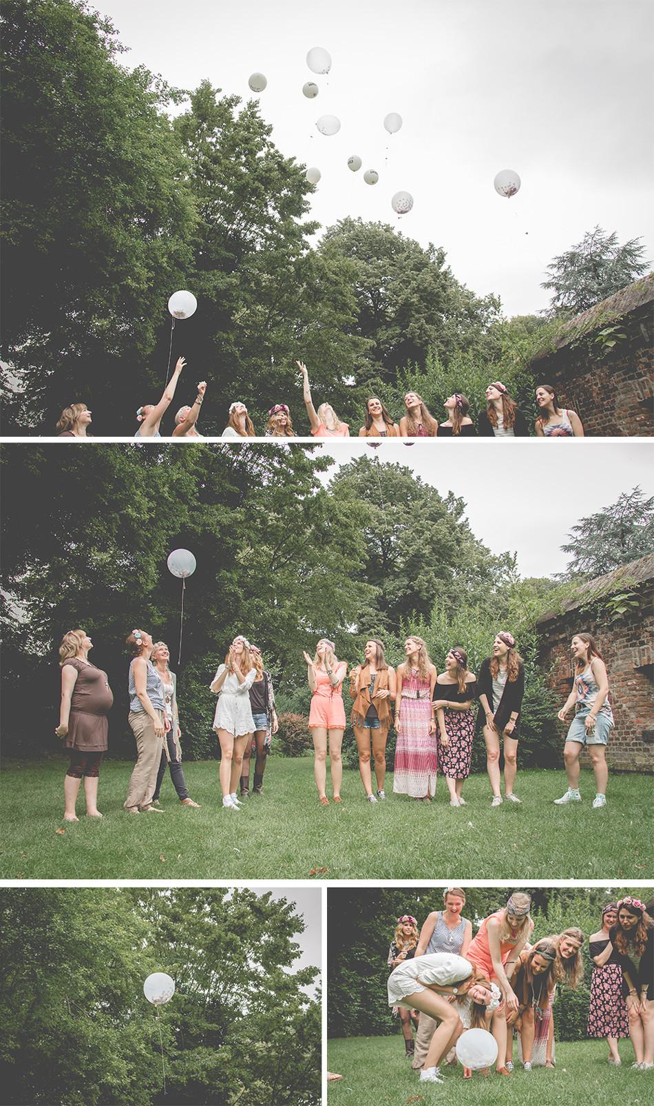Fotoshooting mit Luftballons