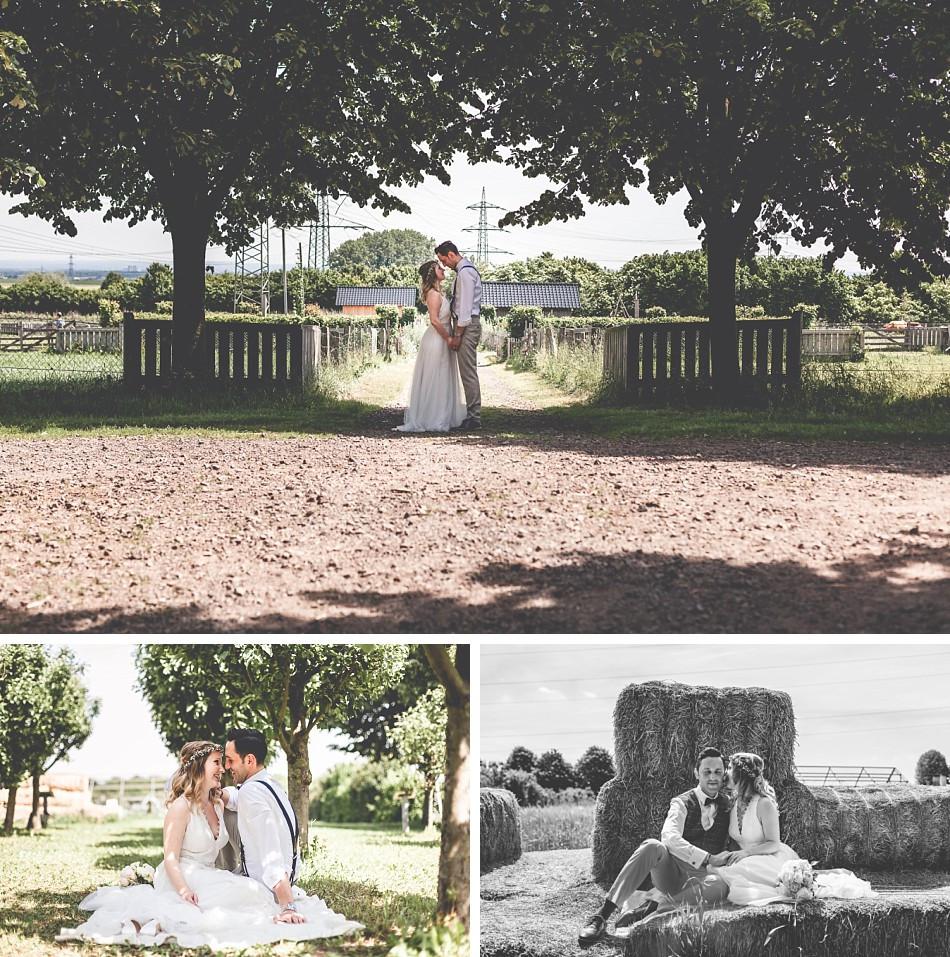 Brautpaarfotos Glessener Mühlenhof Bergheim I Boho-Wedding I Köln I Bergheim I Claudia Kneist Photographie