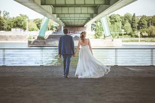 (Braut-) Paarfotos im Rheinauhafen Köln