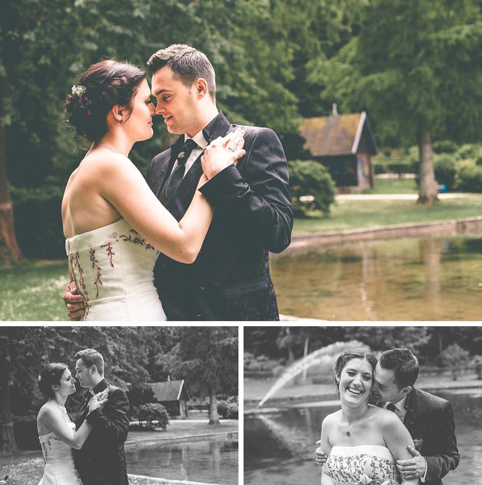 Brautpaarfotos im Kurpark Hennef