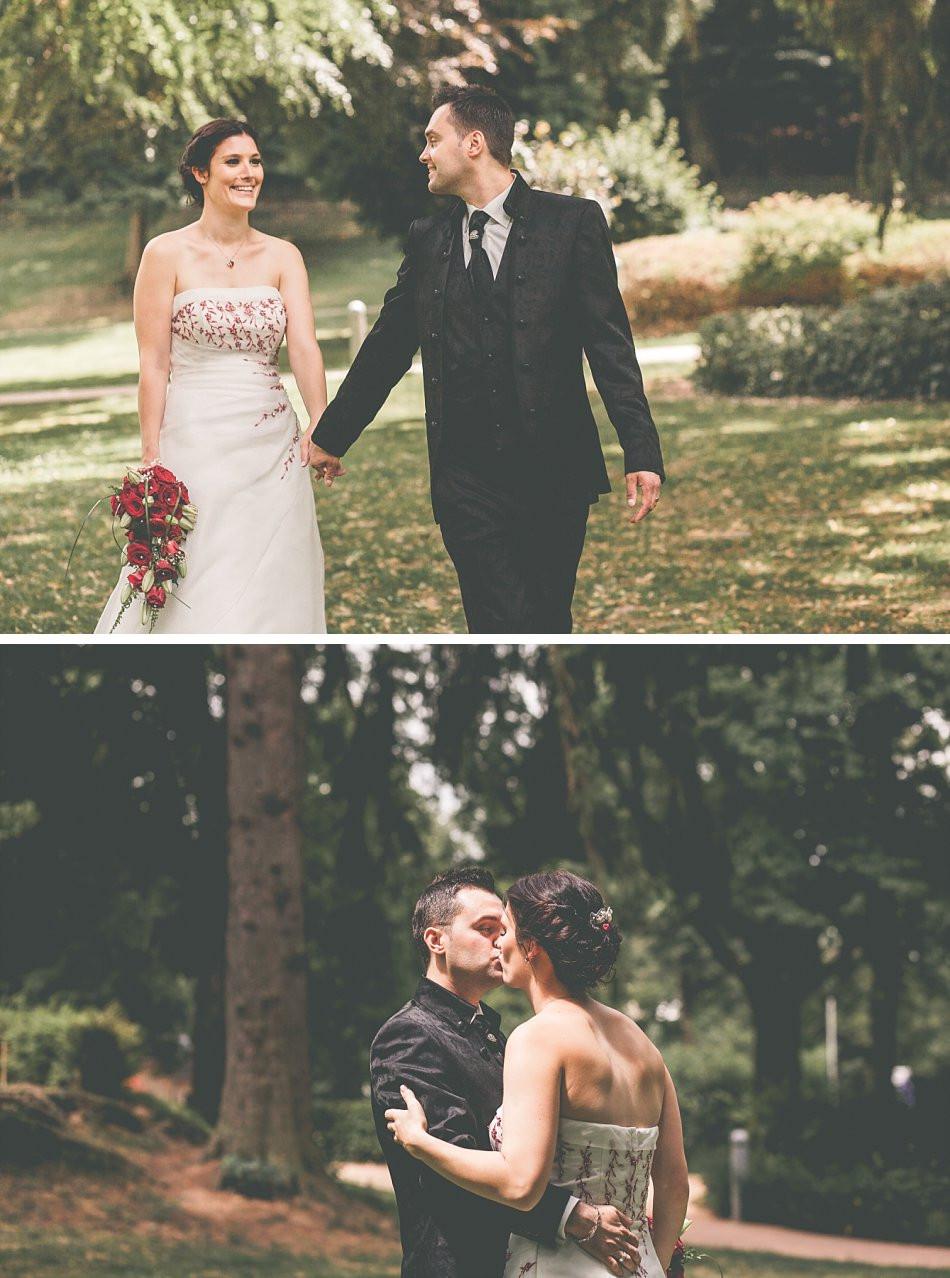Brautpaar Shooting Kurpark Hennef