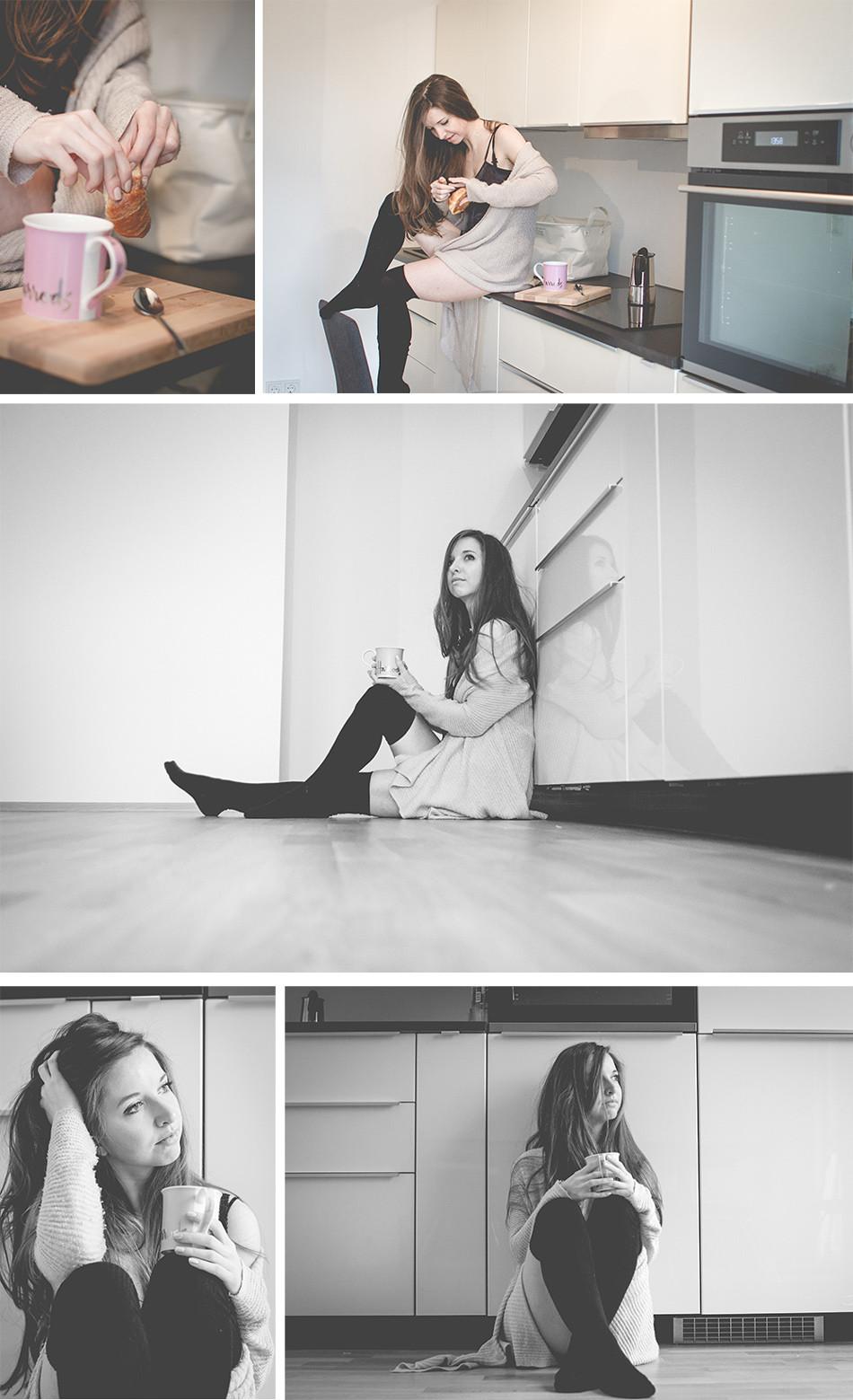 Portraitfotos zuhause