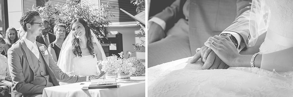 Momente derTrauung / Hochzeitsreportage