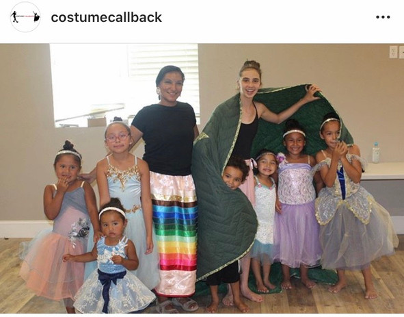 We thank you Costume Call Back