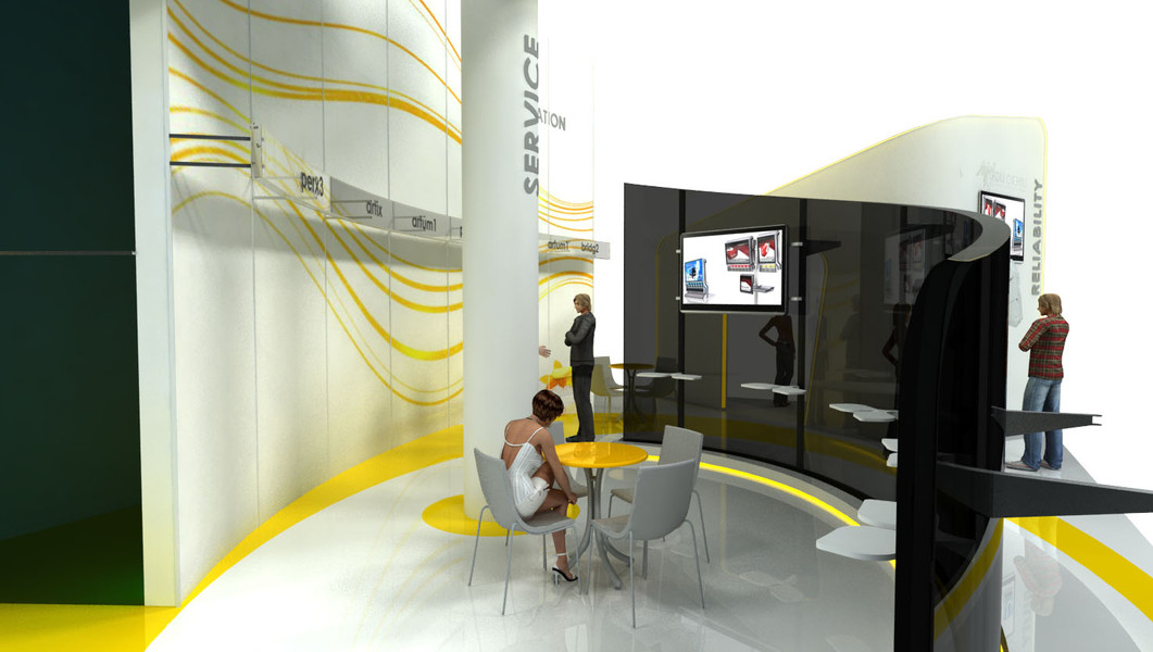 עיצוב ביתן LineroLight