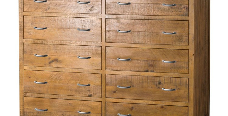 The Deanery Collection 13 Drawer Merchant Chest