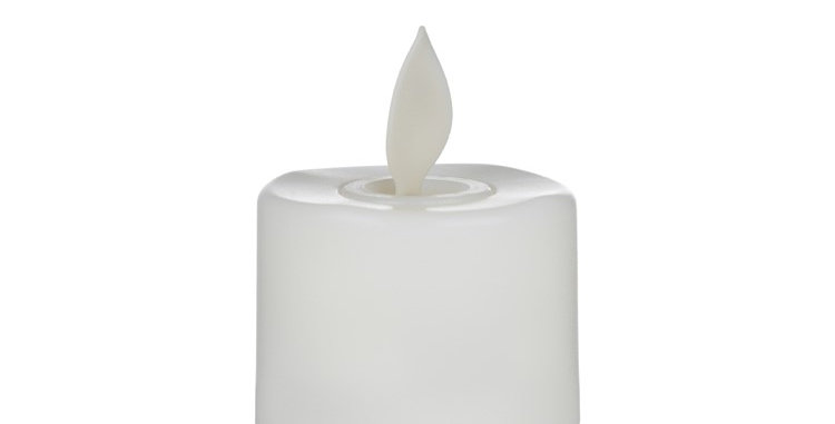 Luxe Collection 6 Flickering Flame Led Tealight Candles