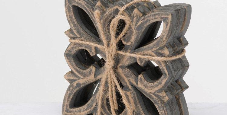 Harmen Set Of 4 Antique Metallic Coaters