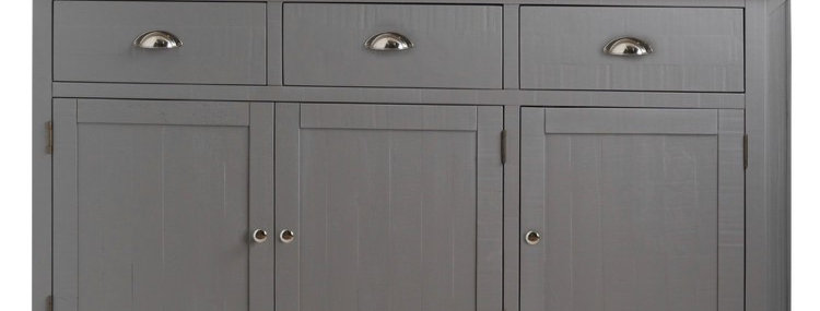 The Byland Collection Three Drawer Three Door Sideboard
