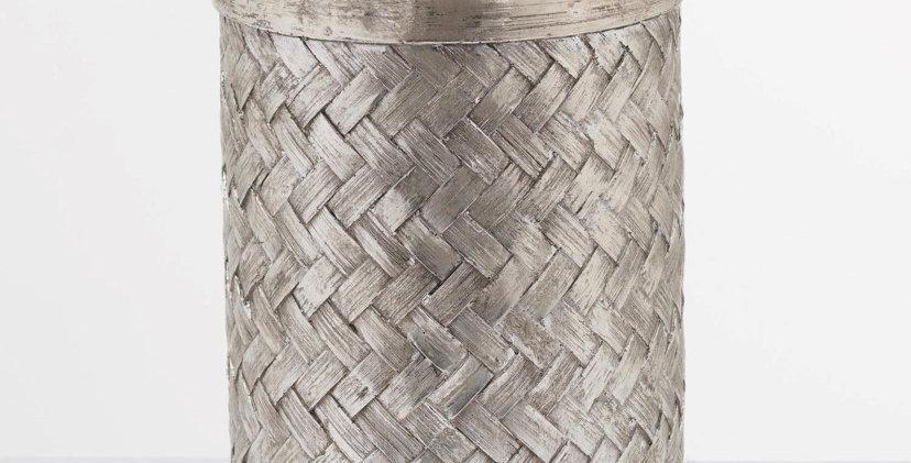 Aspen Woven Effect Large Vase
