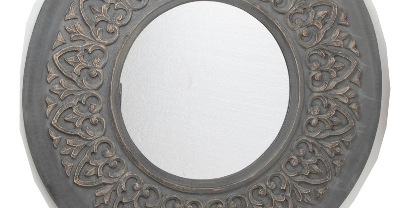 Kiko Grey Wash Mirror