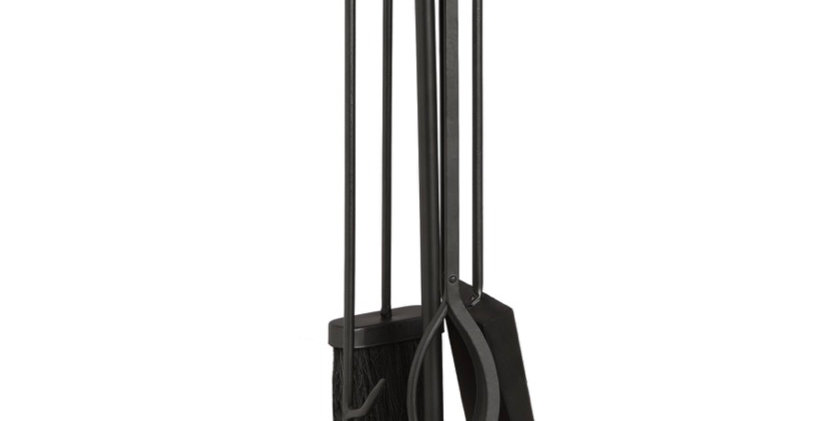 Crook Top Companion Set on Square Stand