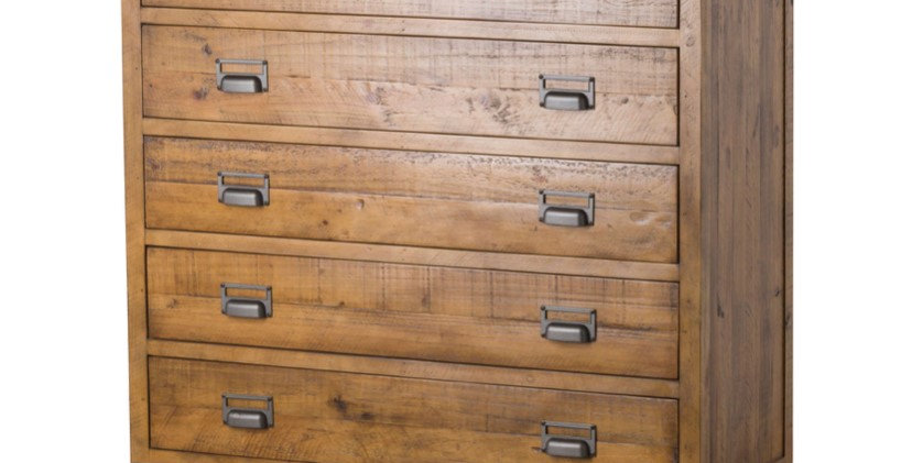 The Draftsman Collection Five Drawer Chest