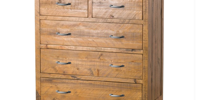 The Deanery Collection Two Over Three Chest Of Drawers
