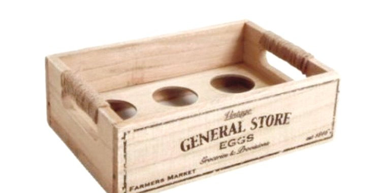 String Handle Egg Crate