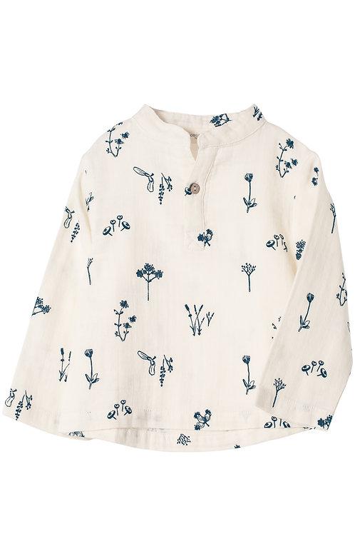 Muslin long sleeve shirt